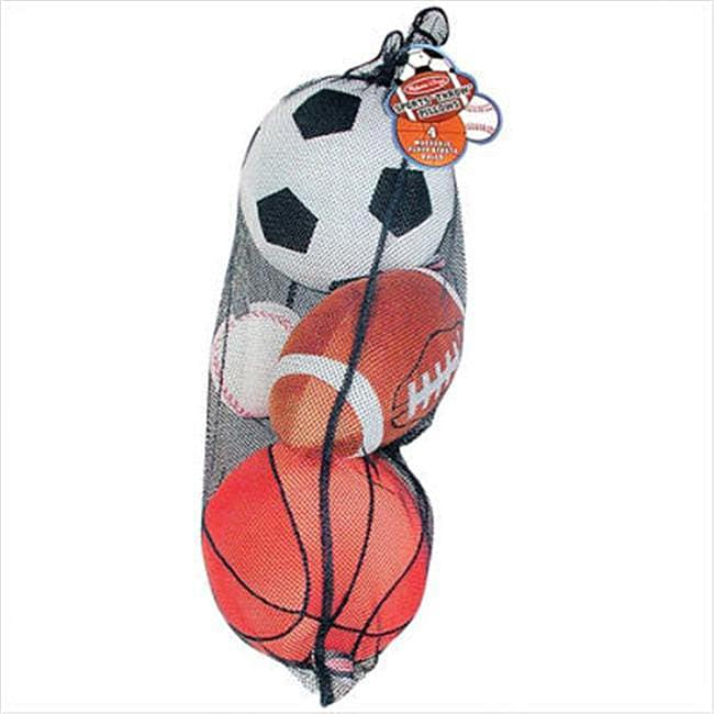 Melissa & Doug Plush Sports Ball Set