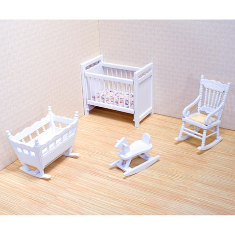 Melissa & Doug Doll House Nursery Furniture