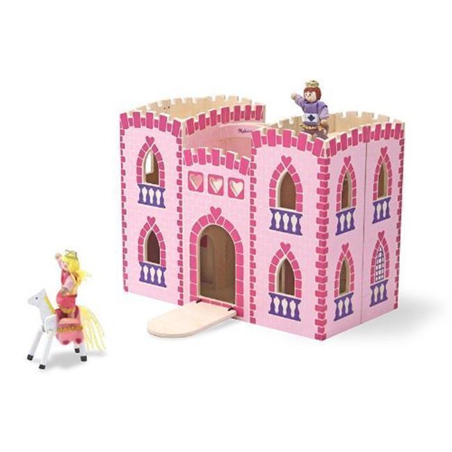 Melissa and Doug Fold and Go Princess Castle Play Set, Gr...