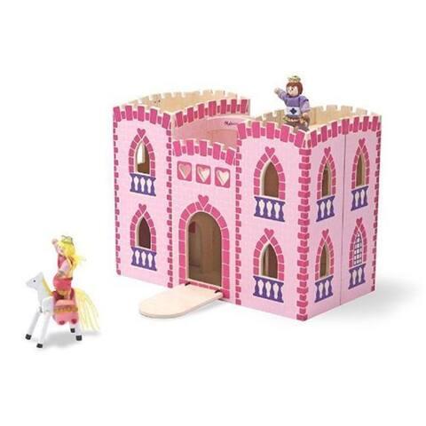 Melissa & Doug Fold and Go Princess Castle Play Set