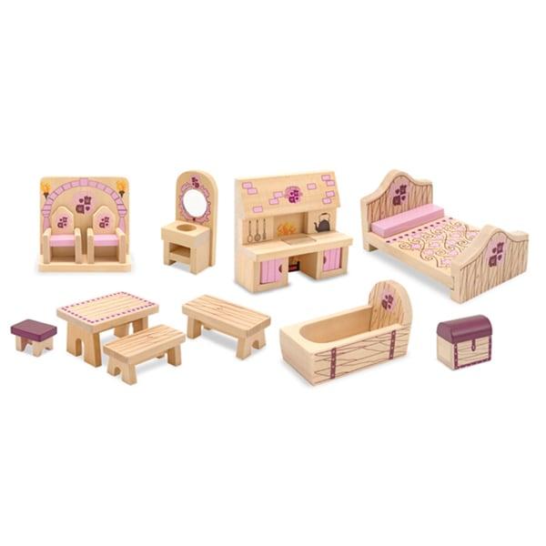 Melissa & Doug Princess Castle Furniture Set