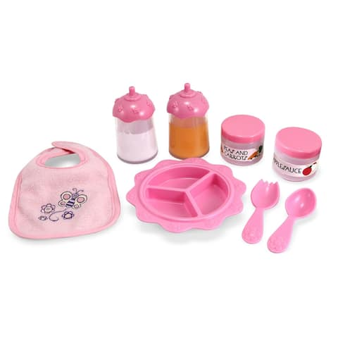 Melissa & Doug Time to Eat Feeding Set
