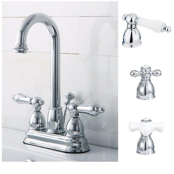 Chrome High Arc Bathroom Faucet