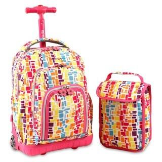 J World 'Lollipop' 16-inch Kids Rolling Backpack/Lunch Bag https://ak1.ostkcdn.com/images/products/5851952/P13564276.jpg?_ostk_perf_=percv&impolicy=medium