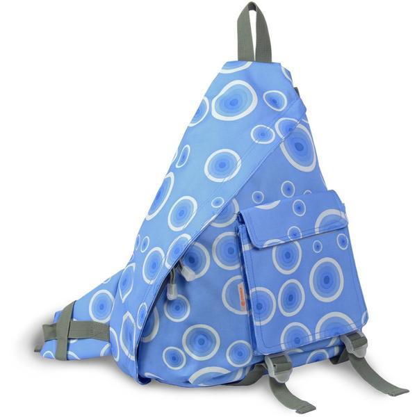 J World 'Kitten' Blue Target 19-inch Sling Bag