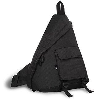 J World Black 'Kitten' 19-inch Sling Backpack