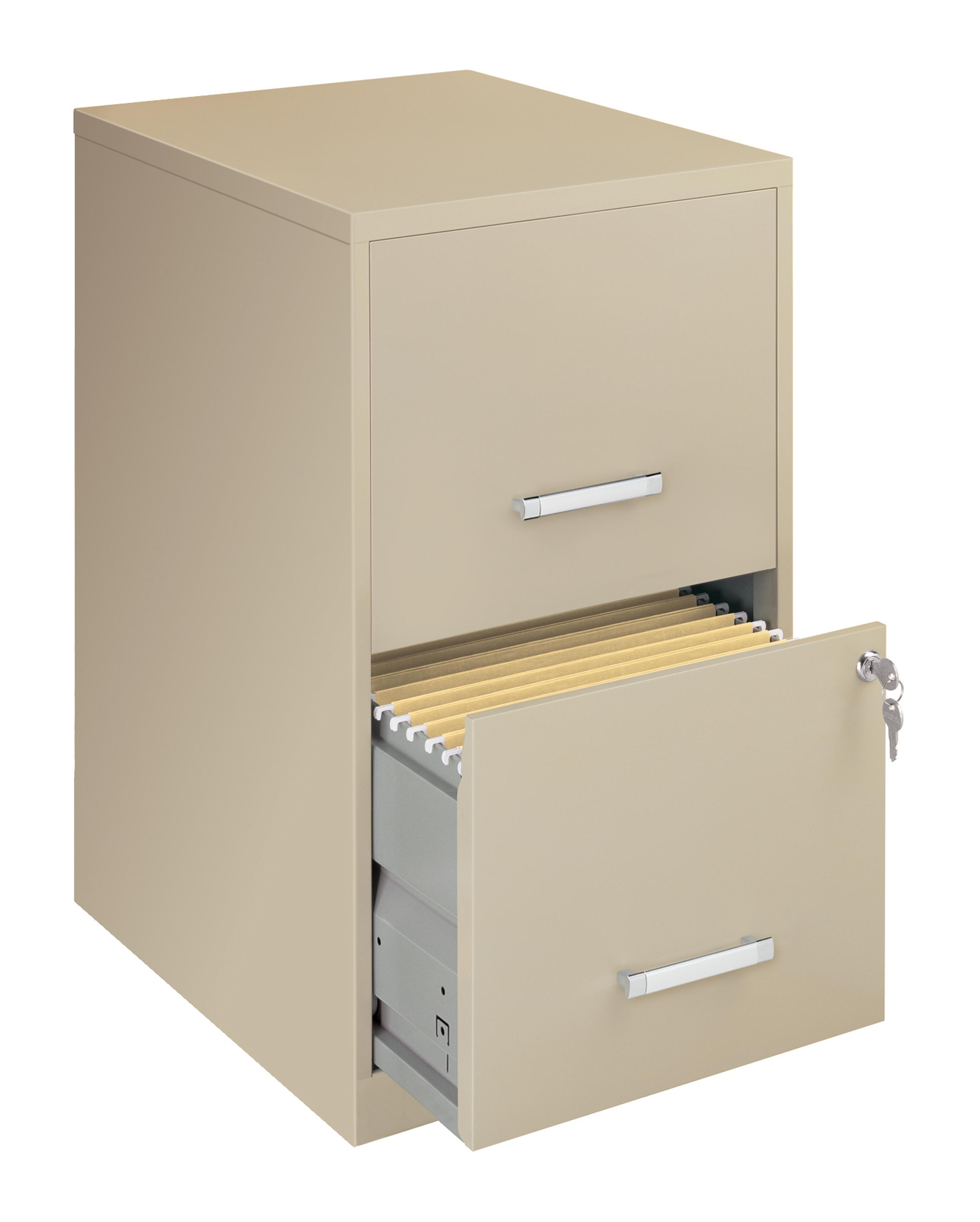 office designs putty colored 2 drawer steel file cabinet