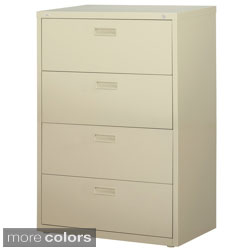 Hirsh HL1000 Series 30-inch Wide 4-drawer Commercial Lateral File Cabinet