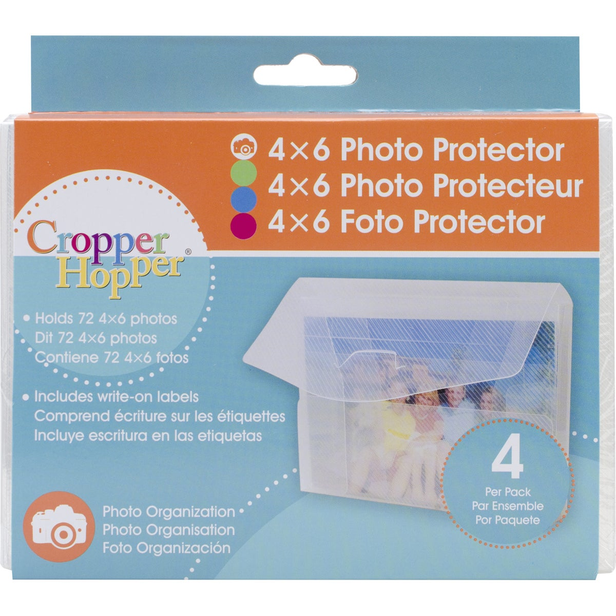 Cropper Hopper Photo/ Negative Organizer, Clear (Plastic)