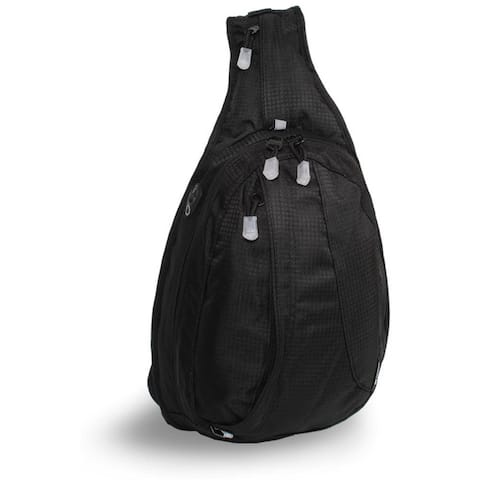 J World Black Stacy Mini Sling Backpack