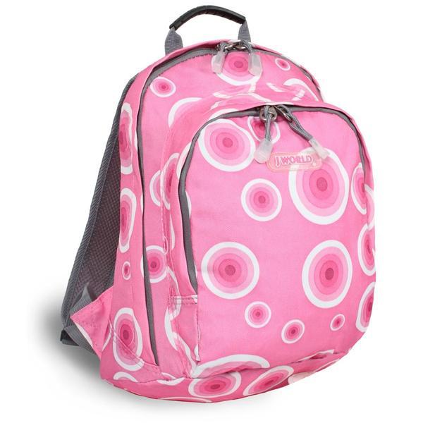 J World 'Rosewalk' Pink Target Mini Backpack