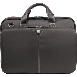 "Mobile Edge - Premium Nylon Laptop 15.6"" Briefcase  Black"