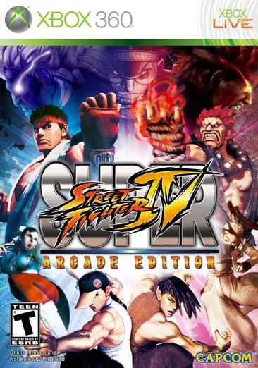 Xbox 360 - Super Street Fighter IV Arcade Edition