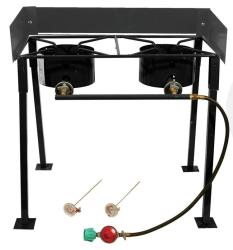 King Kooker 25-inch Portable Double Burner Camp Stove