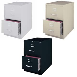 deep file cabinet hirsh 25 inch 2 drawer size vertical 14600