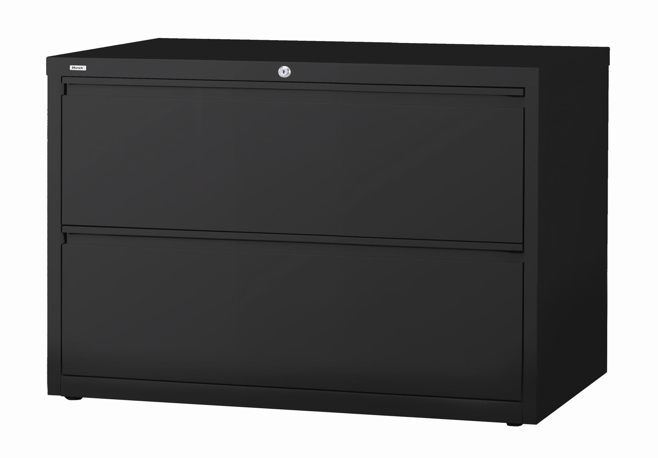 42 Lateral File Cabinet 2 Drawer: Hirsh HL10000 Series 42-inch Wide 2-drawer Commercial