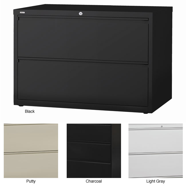 Hirsh HL10000 Series 42-inch Wide 2-drawer Commercial Lateral File ...