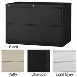 Hirsh HL10000 Series 42-inch Wide 2-drawer Commercial Lateral File Cabinet