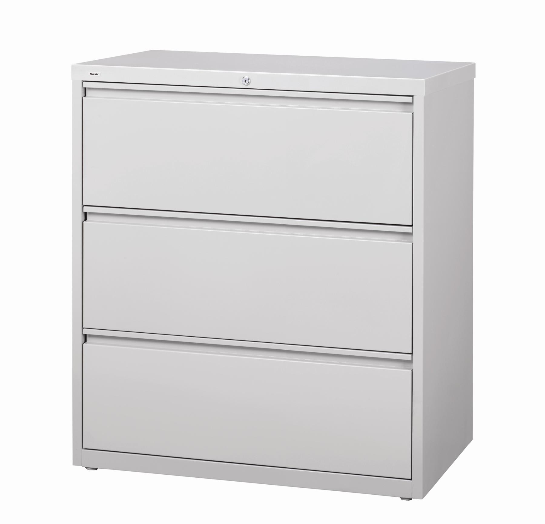 Merveilleux Hirsh HL10000 Series 30 Inch Wide 3 Drawer Commercial Lateral File Cabinet