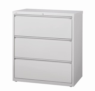 Hirsh HL10000 Series 30-inch Wide 3-drawer Commercial Lateral File Cabinet