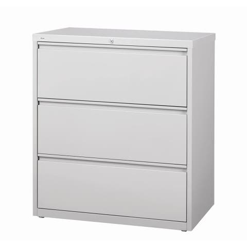 Hirsh HL10000 Series 3-drawer Commercial Lateral File Cabinet