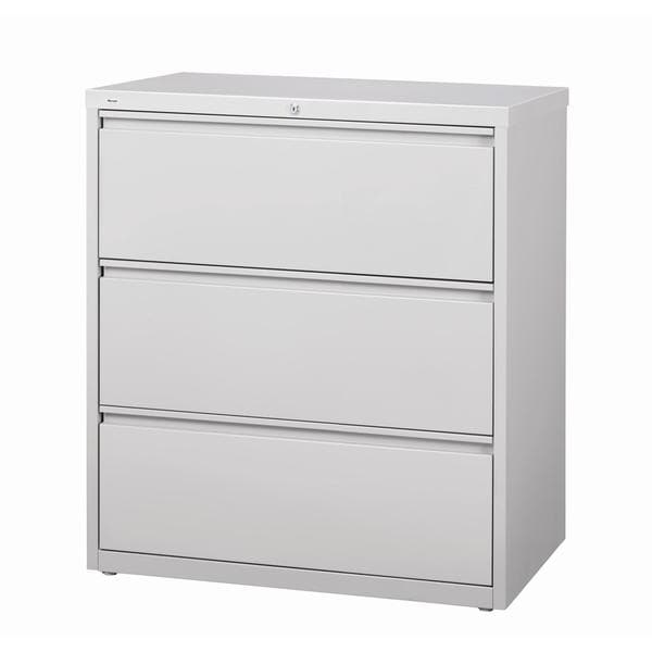 Hirsh Hl10000 Series 30 Inch Wide 3 Drawer Commercial Lateral File Cabinet