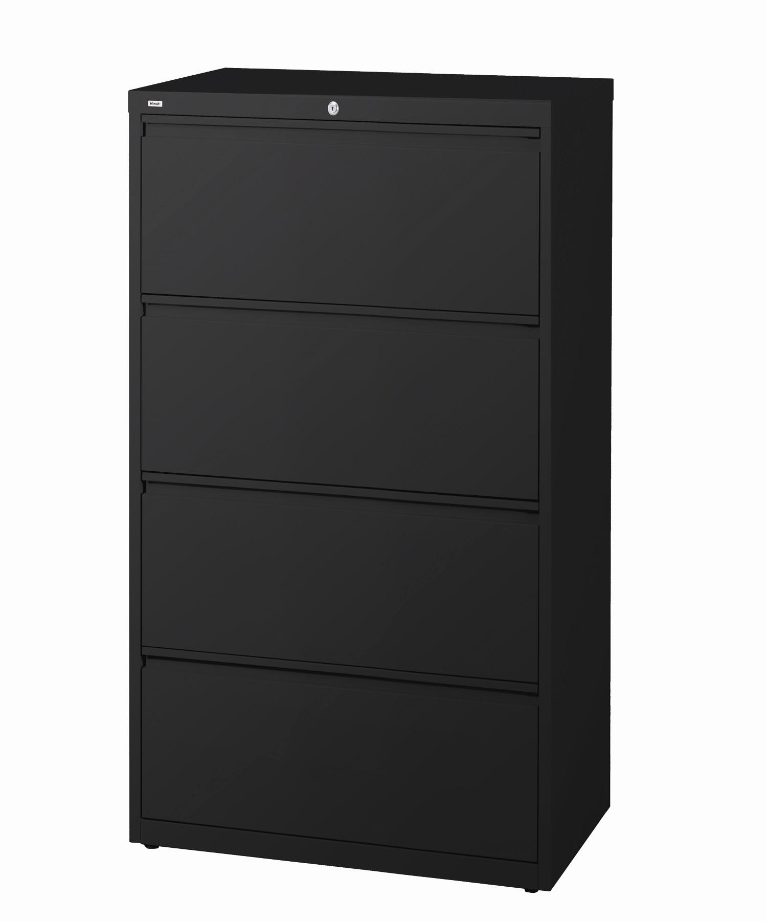 ... Hirsh HL10000 Series 30-inch Wide 4-drawer Commercial Lateral File  Cabinet ...