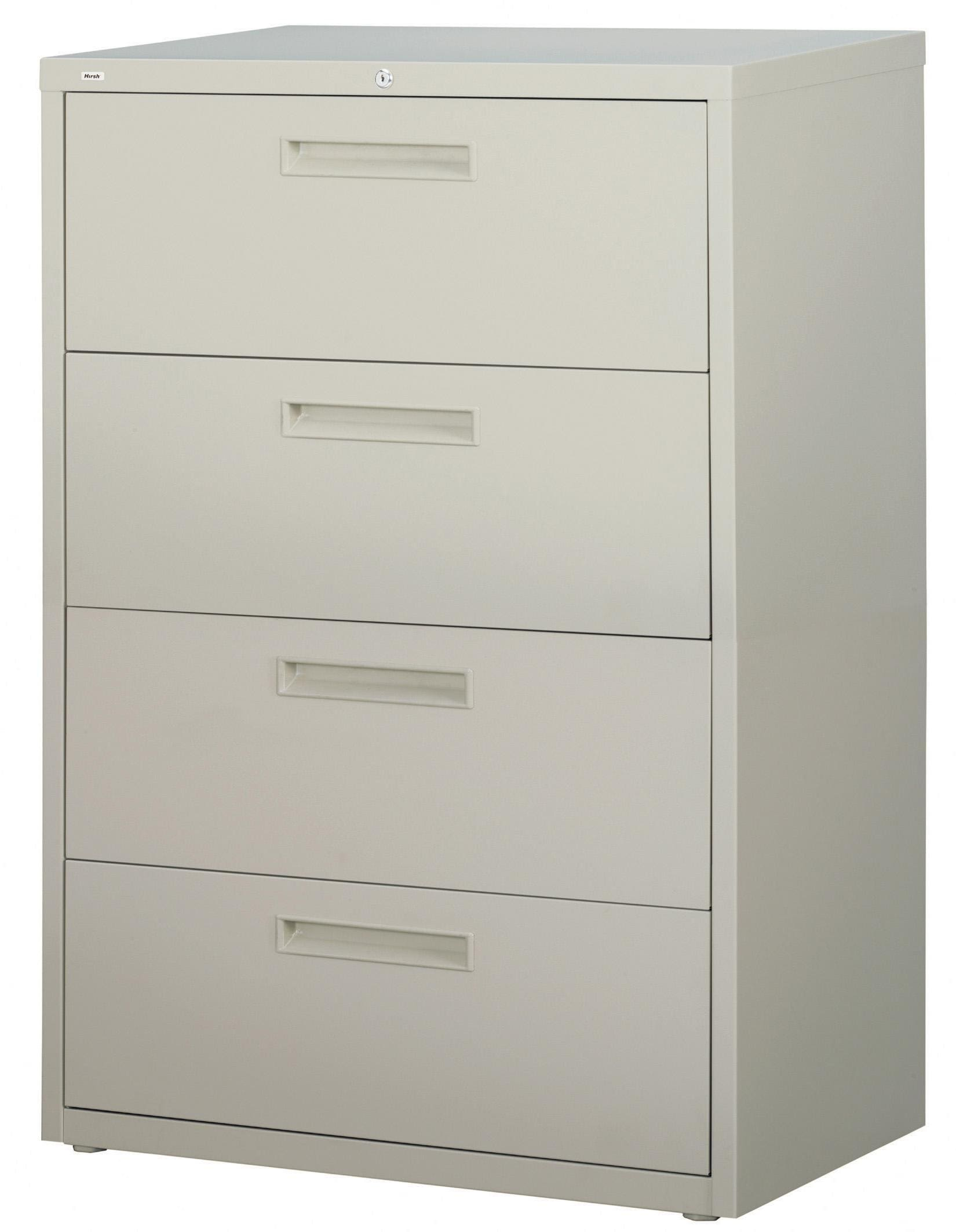 File Cabinet Hirsh Hl5000 Series 36 Inch Wide 4 Drawer Commercial Lateral File