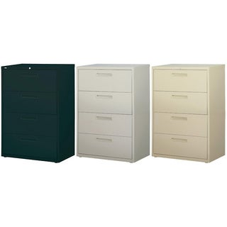 Hirsh HL5000 Series 36-inch wide 4-drawer Commercial Lateral File Cabinet