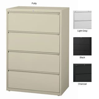 Hirsh Hl10000 Series 36 Inch Wide 4 Drawer Commercial Lateral File Cabinet
