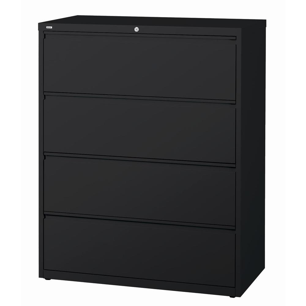 Black Office Dimensions Commercial Grade 42 Wide 3 Drawer Lateral File Cabinet