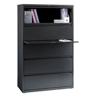 Hirsh HL10000 Series 42-inch Wide 5-drawer Commercial Lateral File Cabinet