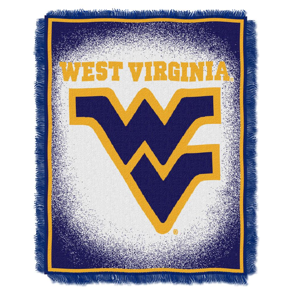 Northwest West Virginia Mountaineers Focus Jacquard Throw - Thumbnail 0