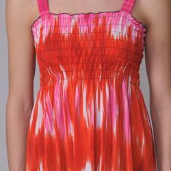 Happie Brand Juniors Paisley Print Tie-dye Sundress - Thumbnail 2