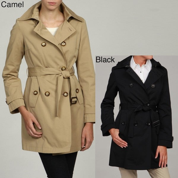 bca64e2c4d2660 Shop MICHAEL Michael Kors Women's Double Breasted Trench Coat - Free ...