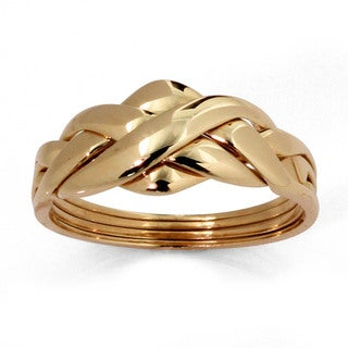 10k Gold Puzzle Ring Tailored