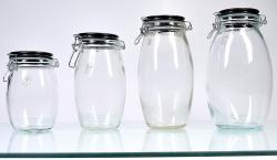 Firenze Storage Jars (Pack of 4) - Thumbnail 2