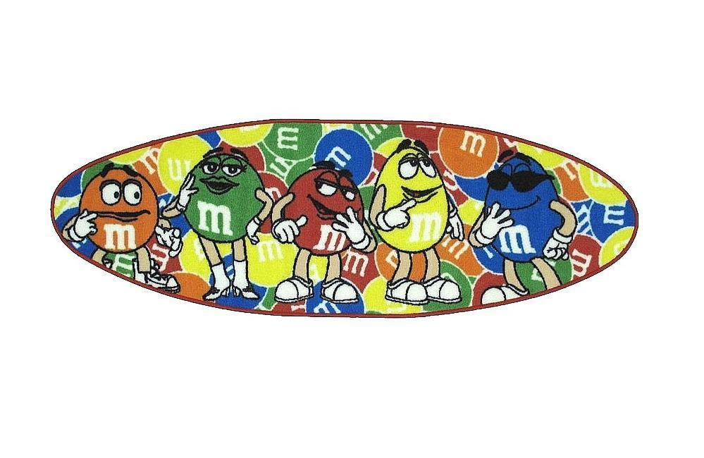 M Amp M S Surfboard Party Rug 3 3 X 4 10 Free Shipping