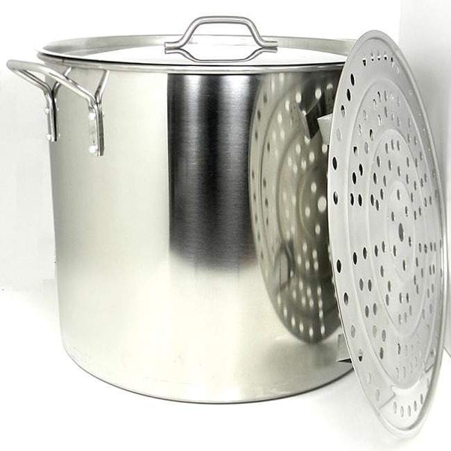 PRIME PACIFIC 100-quart Heavy Duty Stainless Steel Stock ...