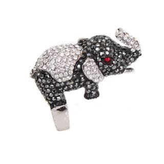 NEXTE Jewelry Red Eye Elephant Ring