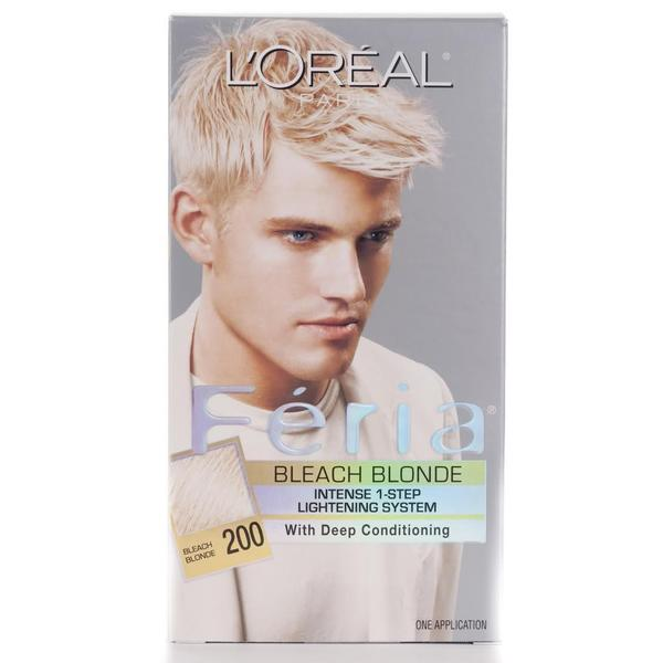 L'Oreal Feria #200 Bleach Blonde Hair Color (Pack of 4)