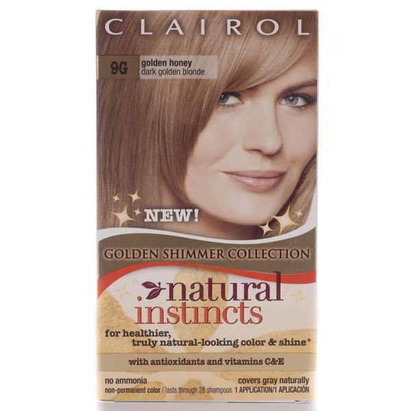 Clairol Natural Instincts #9G Golden Honey Hair Color (Pack of 4 ...