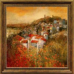 Douglas 'Alioa Fields' Embellished Framed Print Art