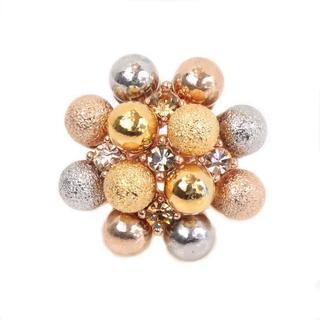 NEXTE Jewelry Goldtone Orb Fasion Ring