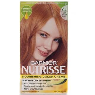 Garnier Nutrisse #94 Light Reddish Blonde Hair Color (Pack of 4)