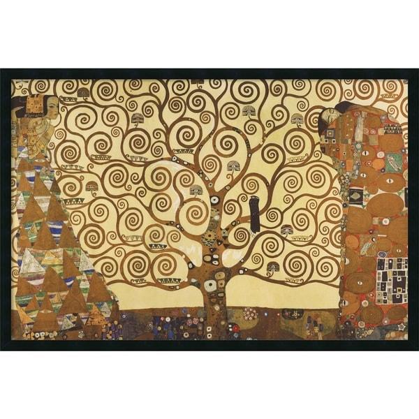 Framed Art Print The Tree of Life, 1905-1911 by Gustav Klimt 38 x 26 ...