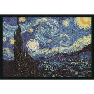 Framed Art Print The Starry Night, June 1889 by Vincent van Gogh 38 x 26-inch