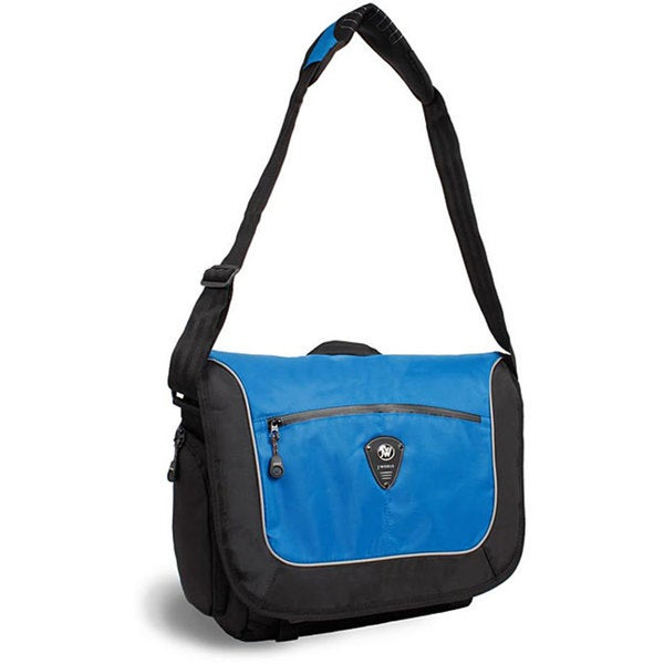 J World 'Windgate' Blue Messenger Bag