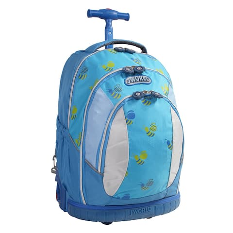 5a7f4c3ceb6 J World  Sweet  17-inch Kids Ergonomic Rolling Backpack