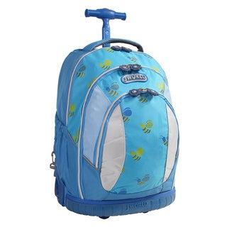 J World 'Sweet' 17-inch Kids Ergonomic Rolling Backpack